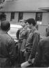 Кубинская делегация на полигоне во главе с Раулем Кастро (1969)