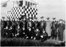 Руководящий состав полка перед началом командирских полетов